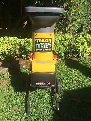 talon trisecta garden shredder review