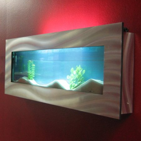 wall mounted fish tank review