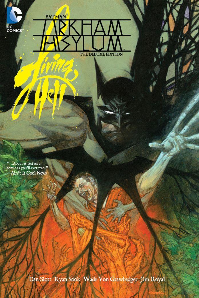 batman arkham asylum comic review