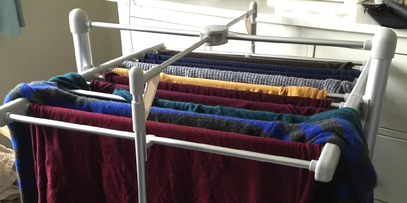heated clothes drying rack review