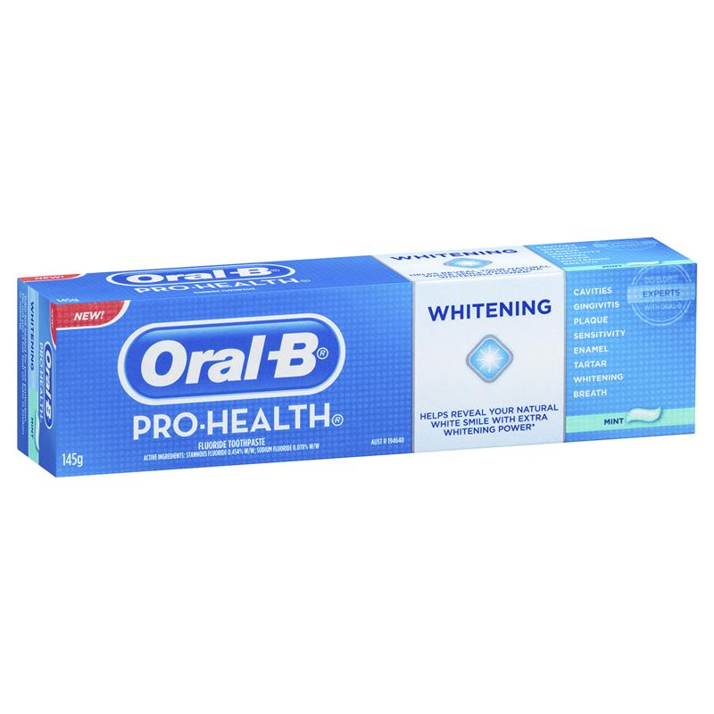 oral b pro health toothpaste review