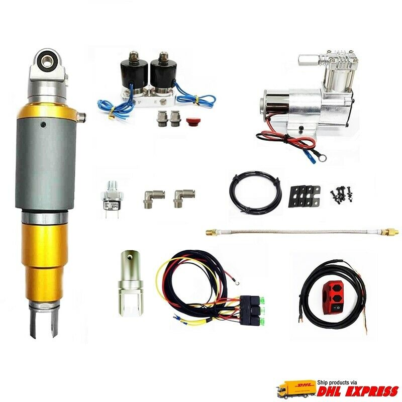 motorcycle air ride suspension reviews