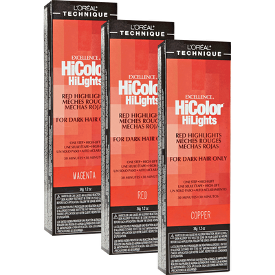 loreal hicolor copper red review
