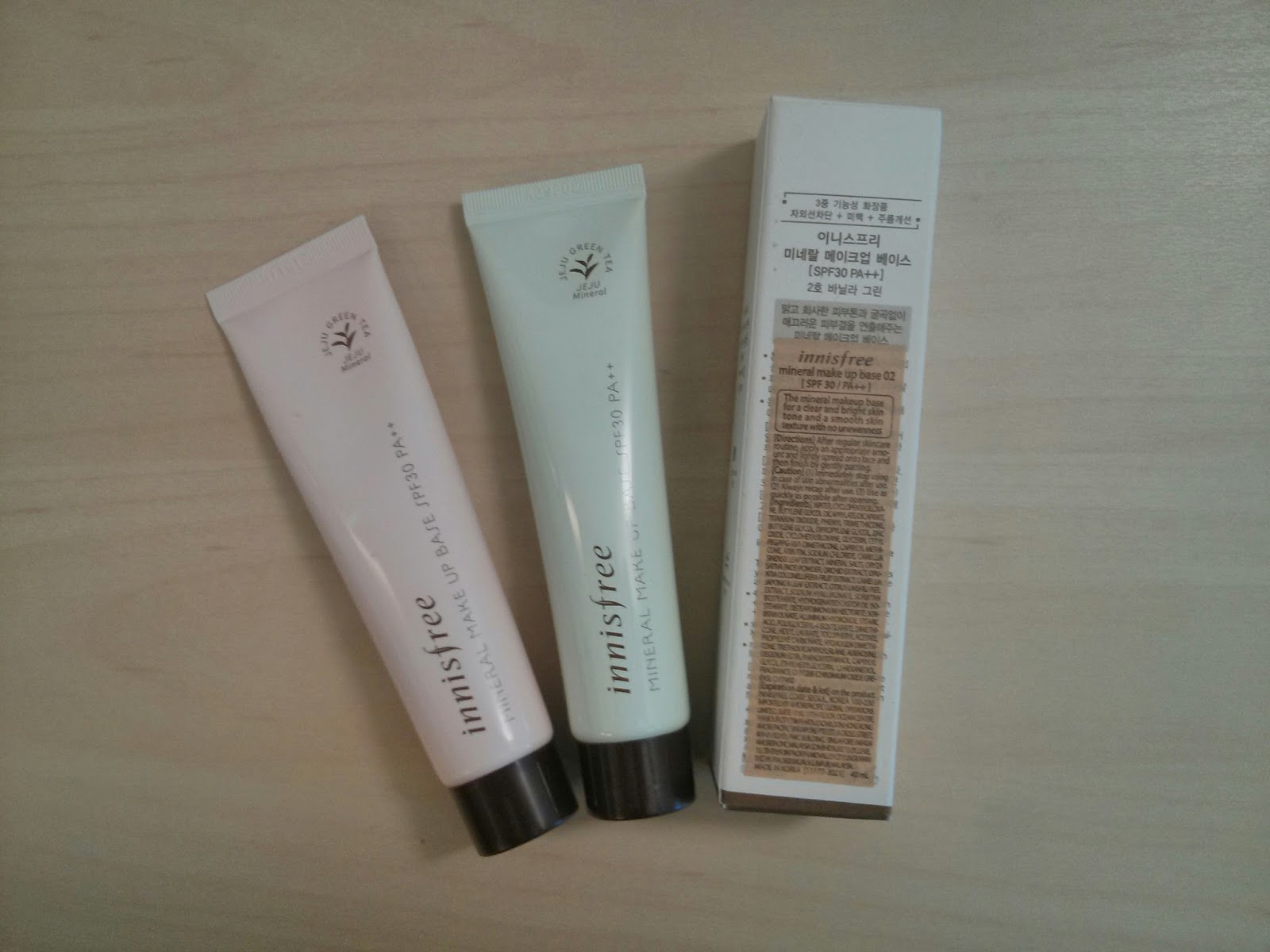 innisfree mineral makeup base purple review
