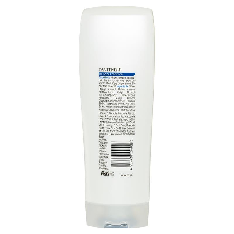 pantene ice shine conditioner review