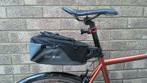 ortlieb seatpost 4l bag review