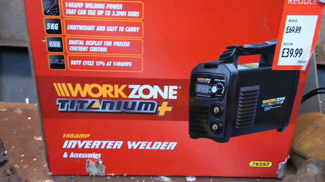 work zone inverter welder review