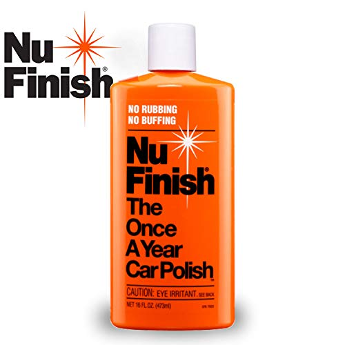 nu finish once a year car polish review