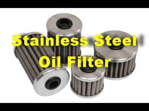 stainless steel oil filter review