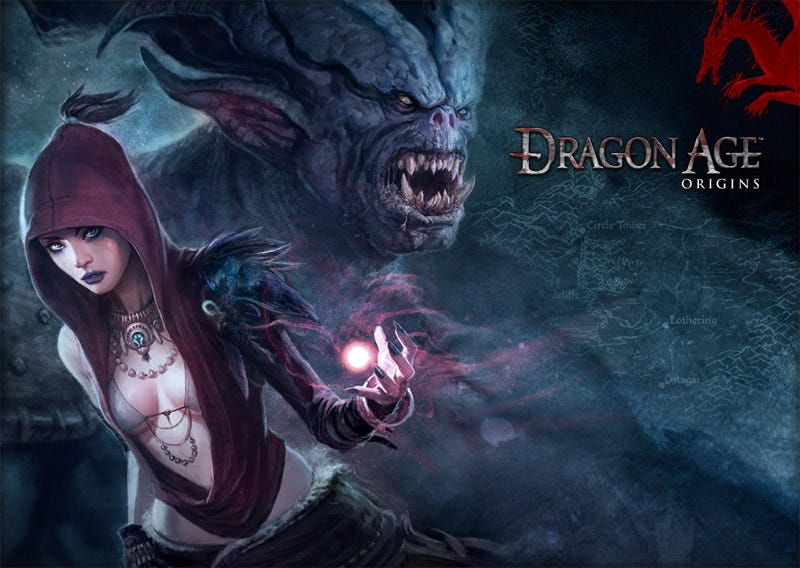 dragon age origins pc review