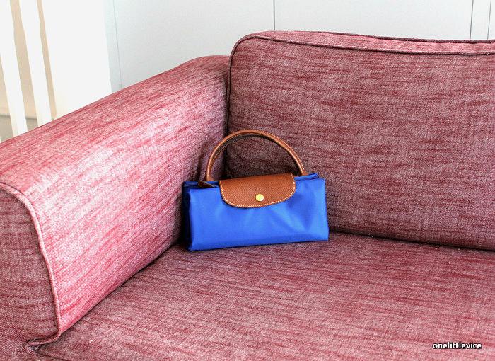 longchamp le pliage large travel bag review