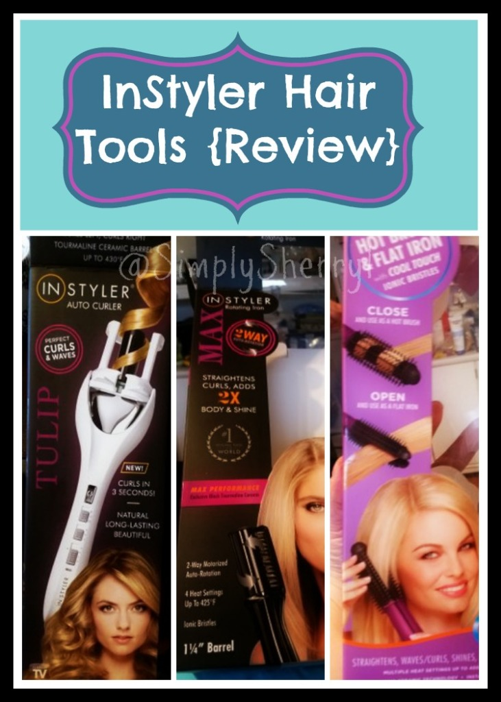 instyler tulip hair curler review