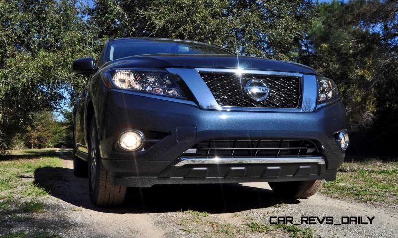 2015 nissan pathfinder sv review