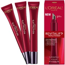 l oreal revitalift triple power eye cream reviews