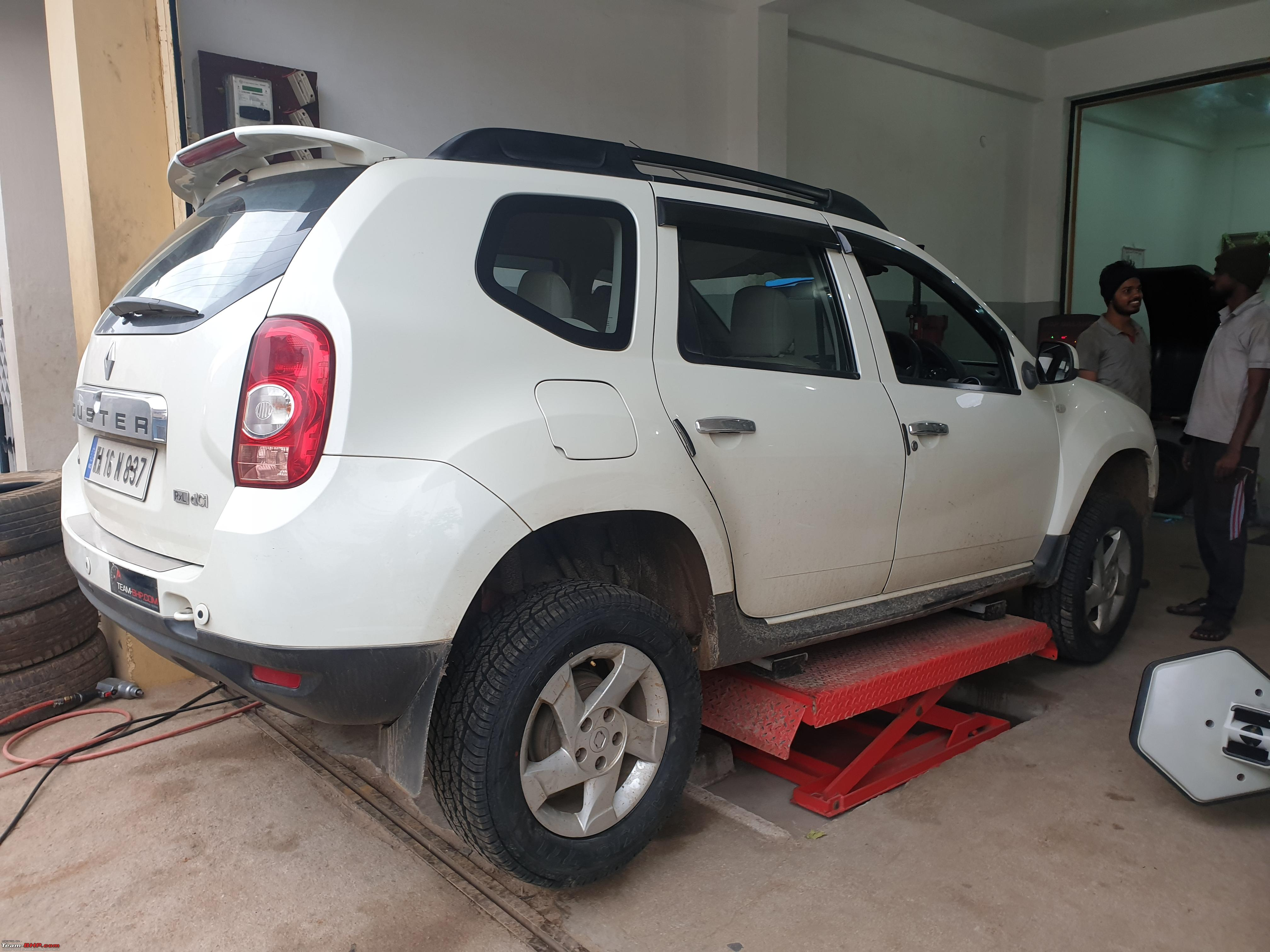 renault duster review team bhp