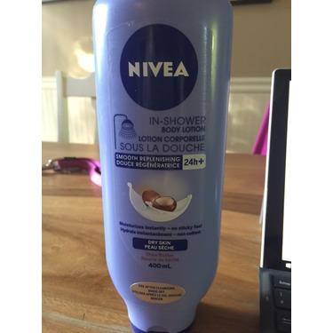 nivea in shower body moisturiser review