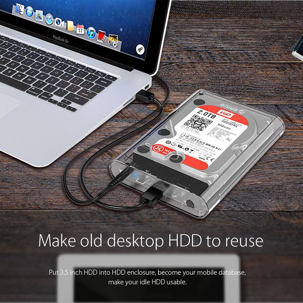 orico hard drive enclosure review