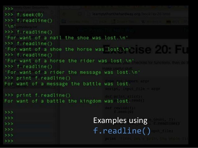 learn python 3 the hard way review