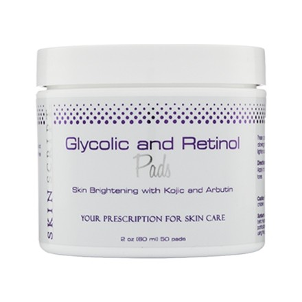 skin script glycolic and retinol pads review
