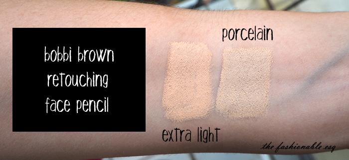 retouching face pencil bobbi brown review