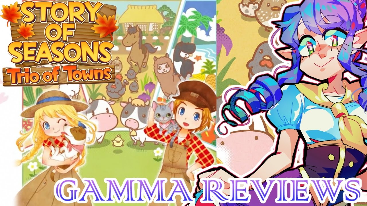 story of seasons trio of towns review