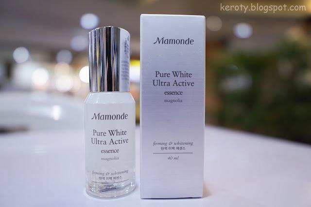 mamonde pure white ultra active cream review