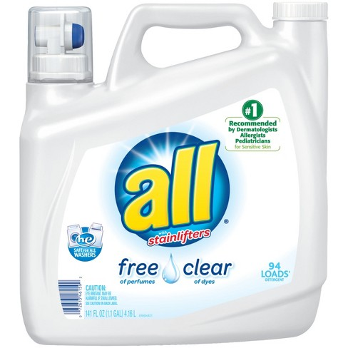 free and clear laundry detergent reviews