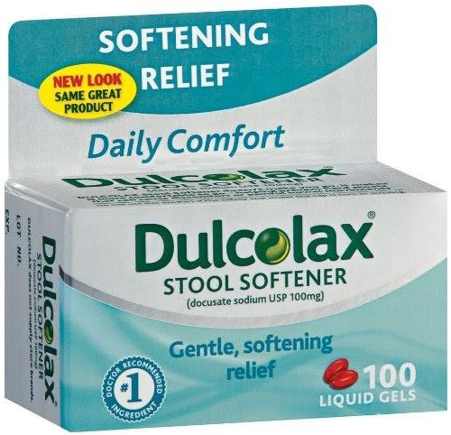 dulcolax stool softener user reviews