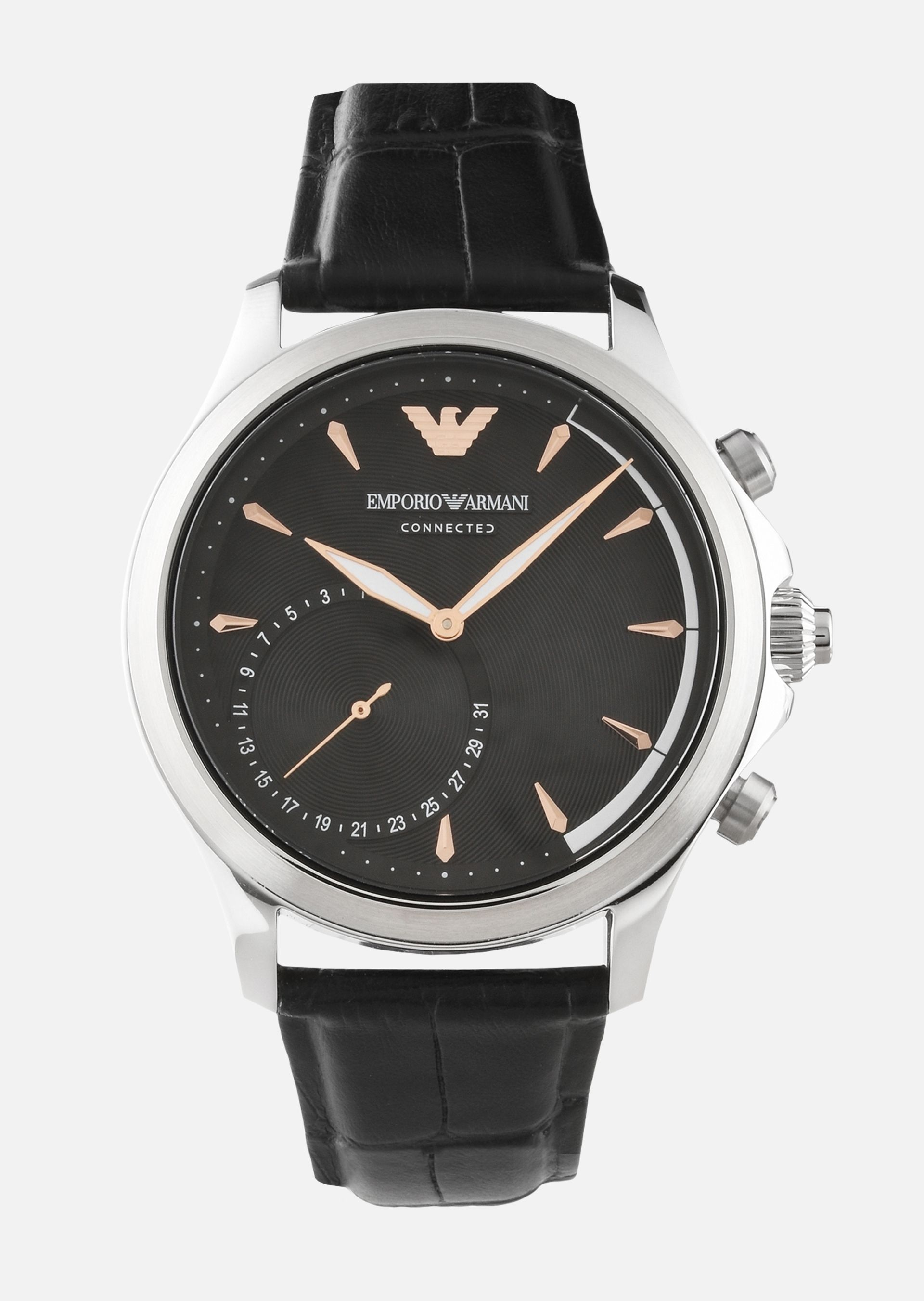 emporio armani connected hybrid smartwatch review