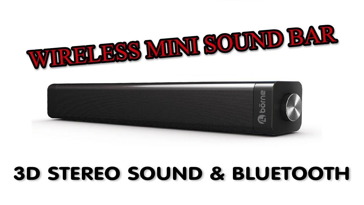 x mini sound bar review