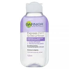 garnier eye makeup remover review