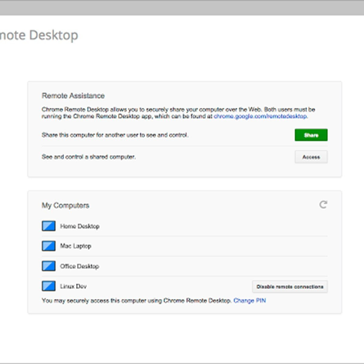 google chrome remote desktop review