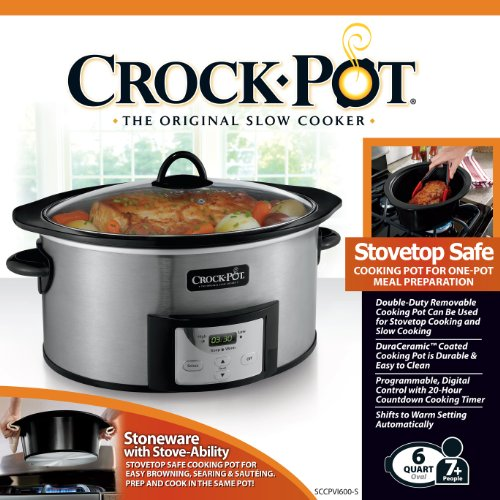 crock pot countdown slow cooker review