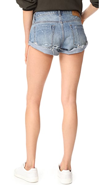 one teaspoon shorts sizing review