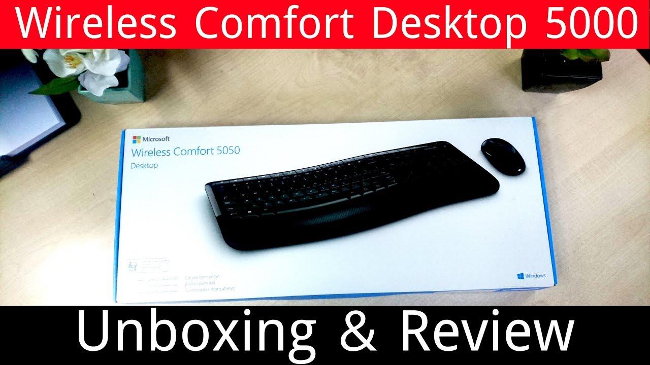 microsoft wireless comfort desktop 5000 review