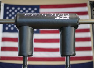 rogue safety squat bar review