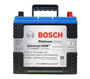 bosch platinum agm battery review