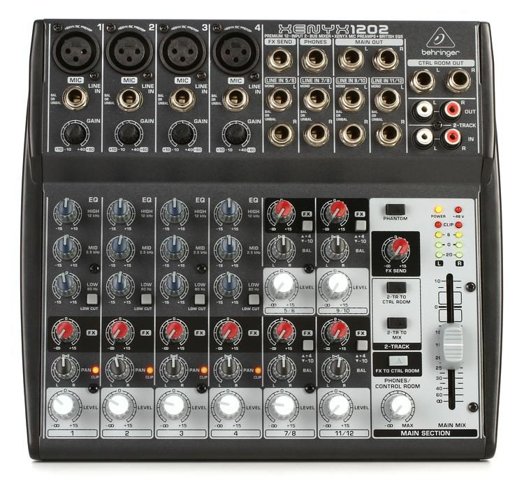 behringer xenyx 802 usb review