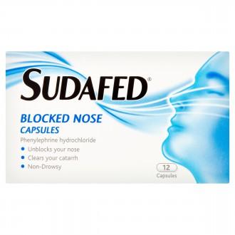 sudafed blocked nose spray review