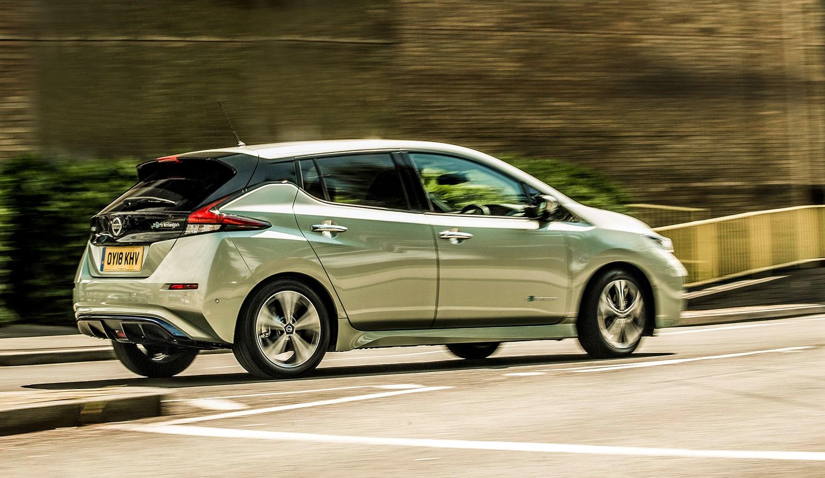 nissan leaf electric car review
