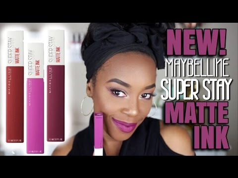maybelline super stay matte ink review