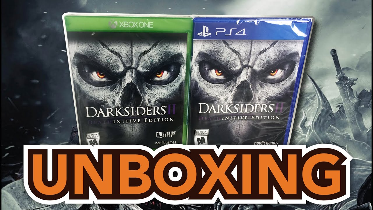 darksiders 2 deathinitive edition ps4 review