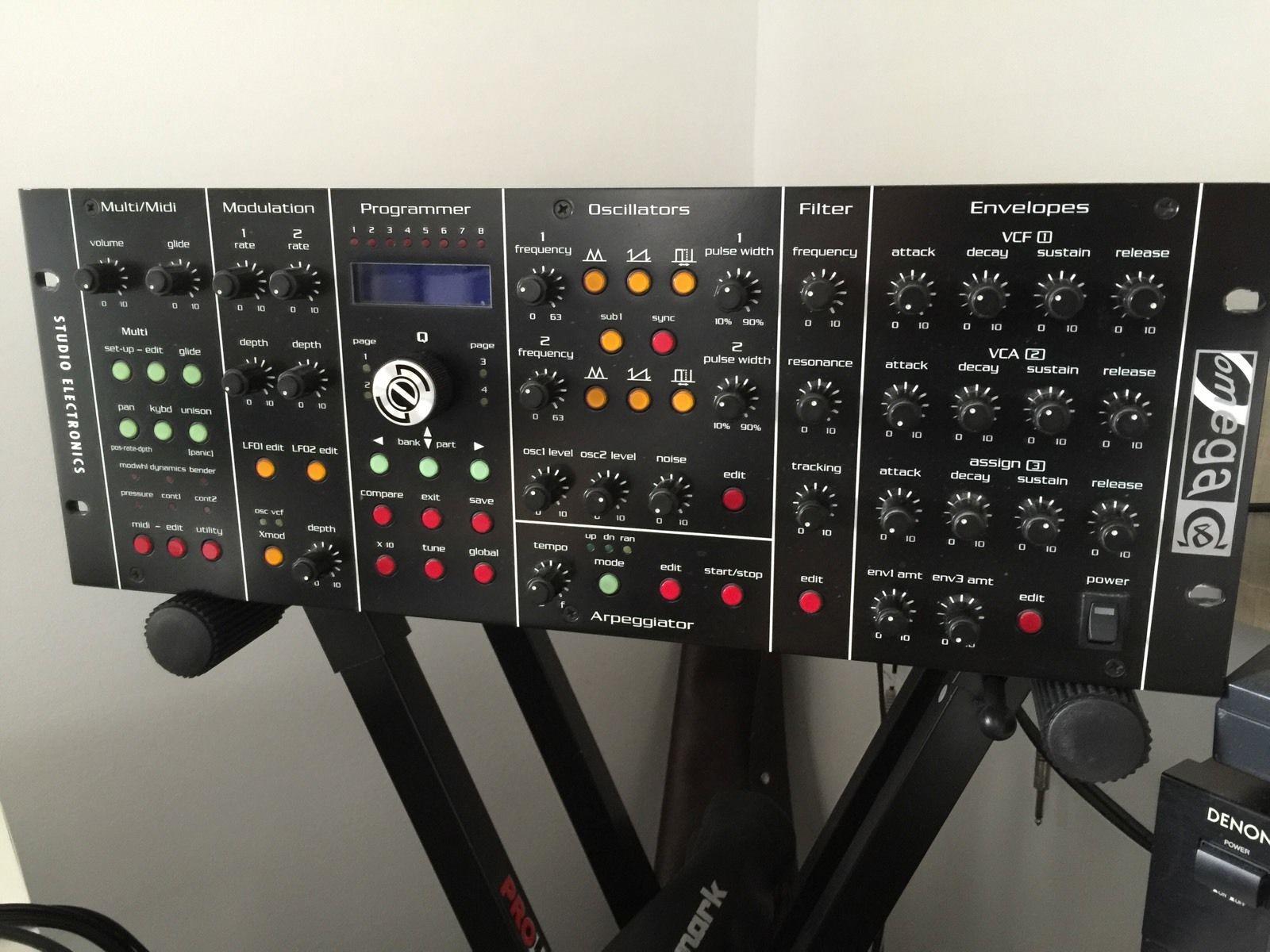 studio electronics omega 8 review