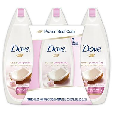 dove coconut milk body wash review