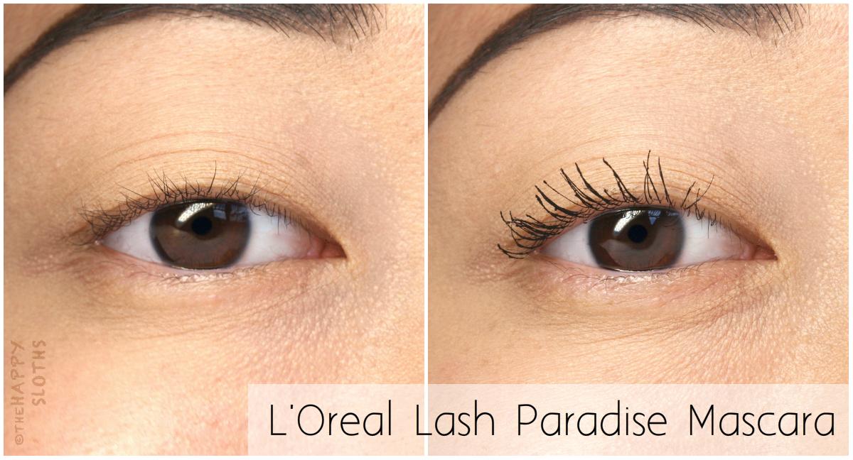 l oreal voluminous lash paradise mascara review