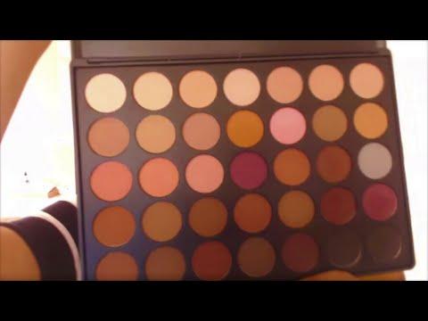 morphe 35o matte palette review