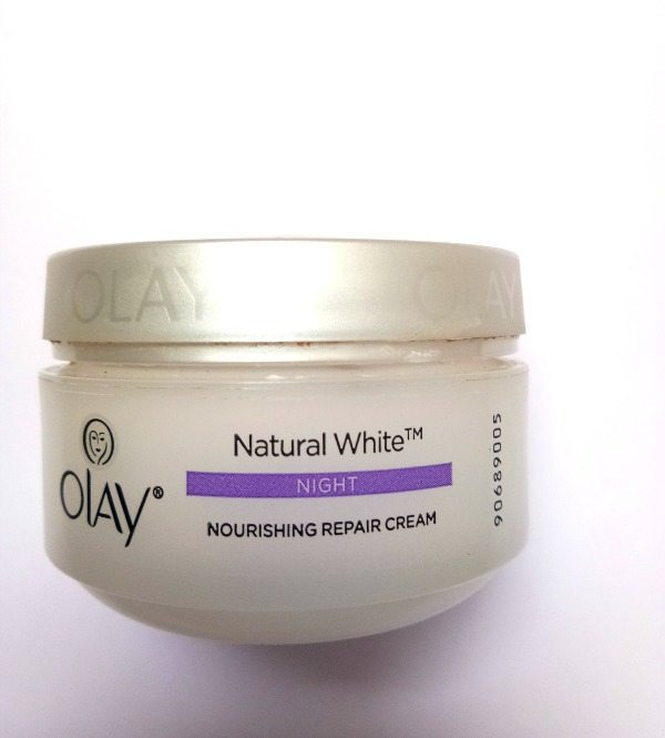 olay white night cream review