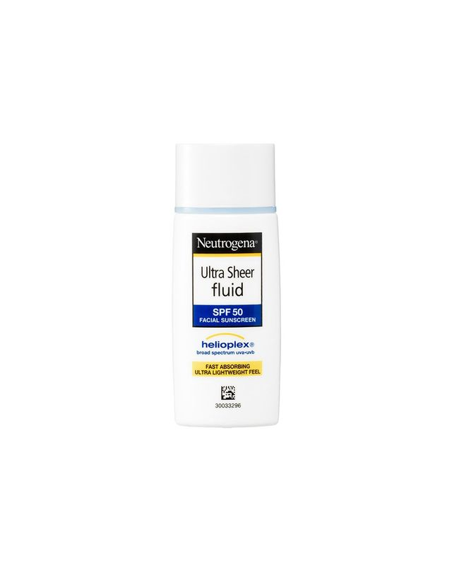 neutrogena ultra sheer fluid spf 50 review