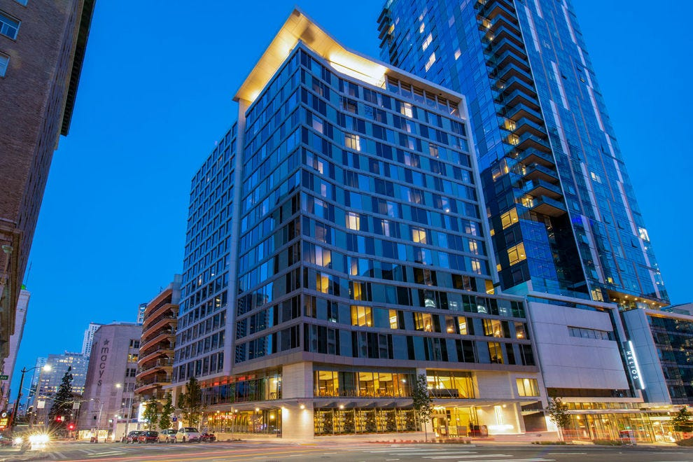 holiday inn seattle downtown reviews