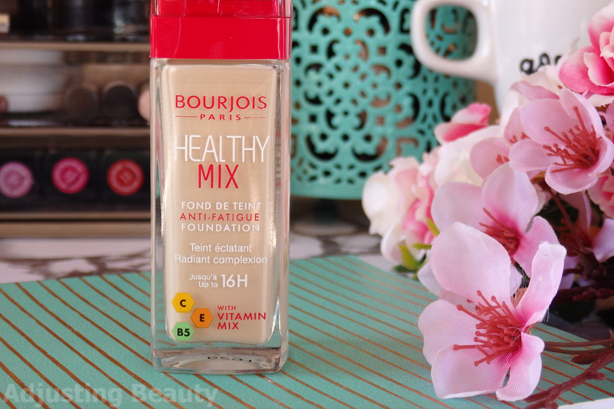bourjois healthy mix foundation review 2017